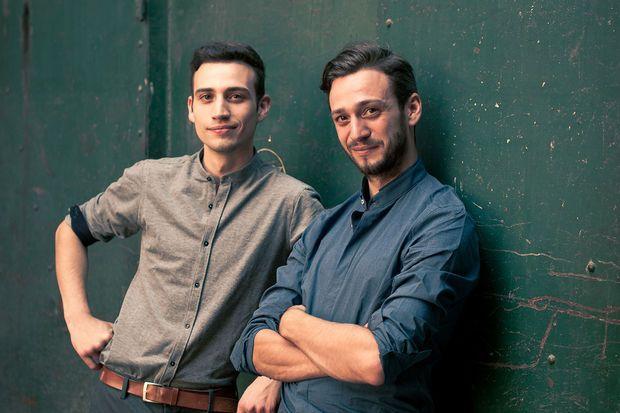 Wolfram en Oskar Ghesquière, uitbaters van Barbossa