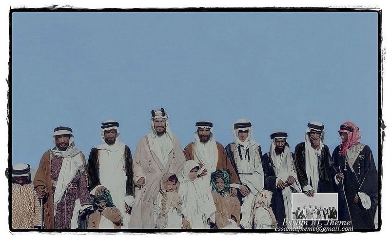 الملك عبدالعزيز مع ابنائه ورفاقه Rare Pictures My Images Photo