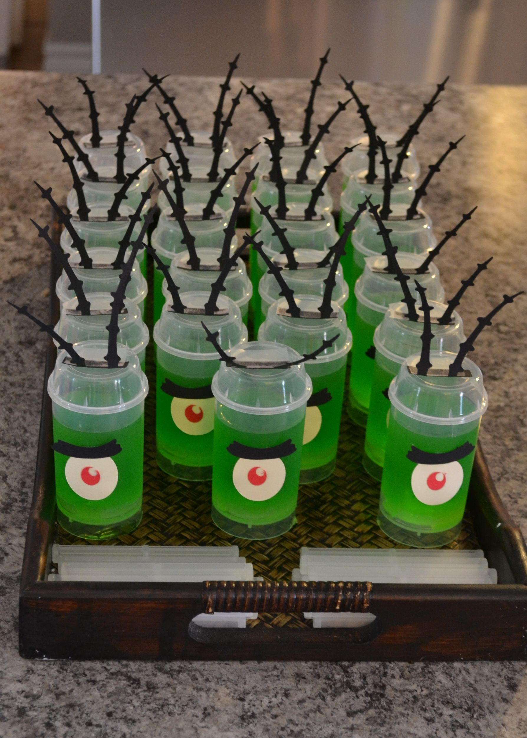 Plankton Jello I Know They Sell Straight Wall Shooters And Tasting Spoons So They D Fit The F Spongebob Party Spongebob Birthday Spongebob Squarepants Party