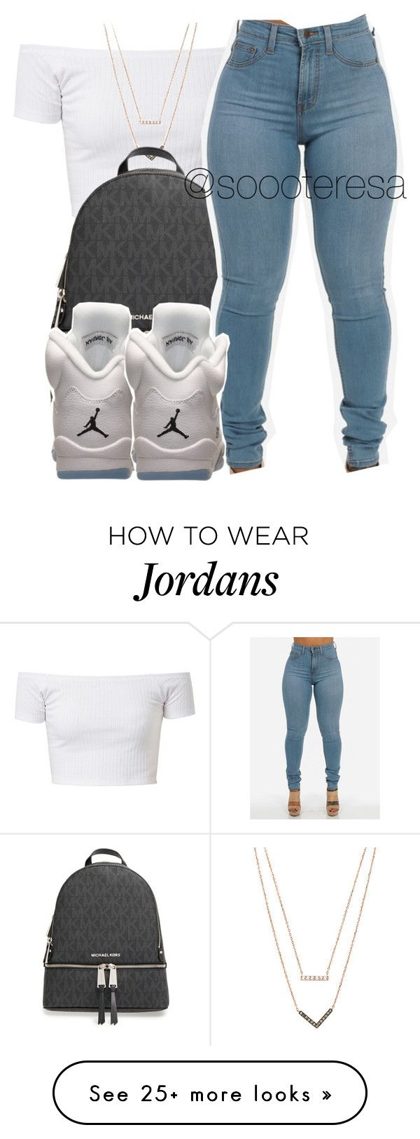 """Untitled #121"" by soooteresa on Polyvore featuring Michael Kors, MICHAEL Michael Kors and Retrò"