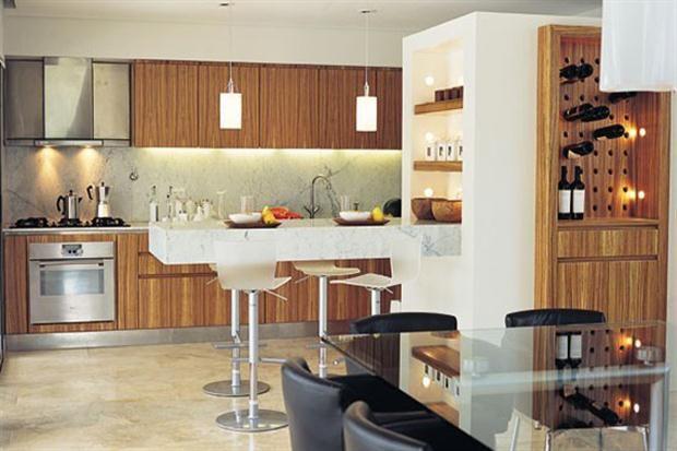 Qu tener en cuenta al armar una cocina integrada - Cocinas integradas ...