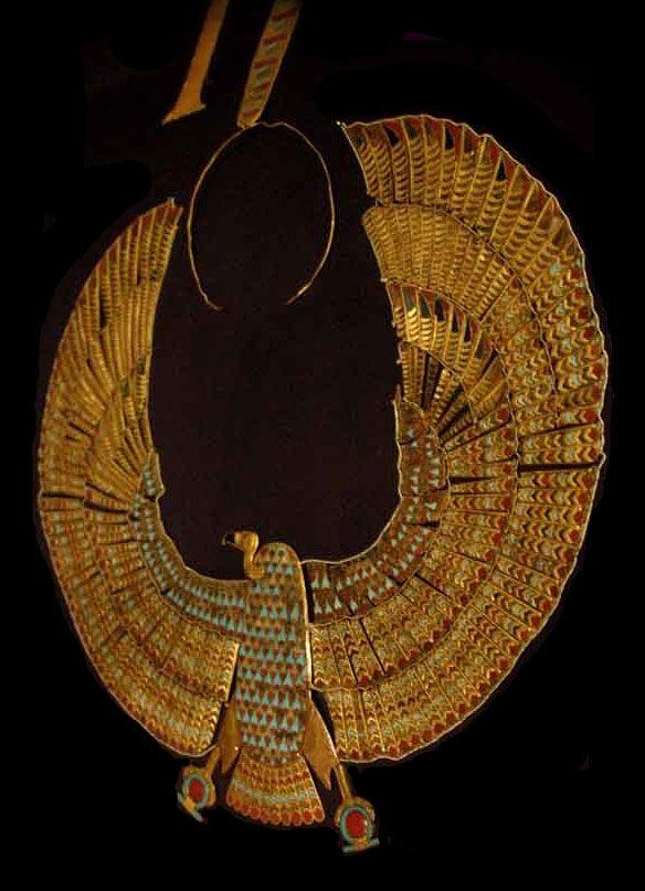 King Tutankhamun treasure.