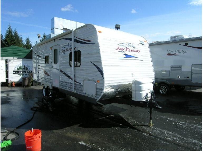 Used 2011 #Jayco Jay flight 24 FBS #Travel_trailer in
