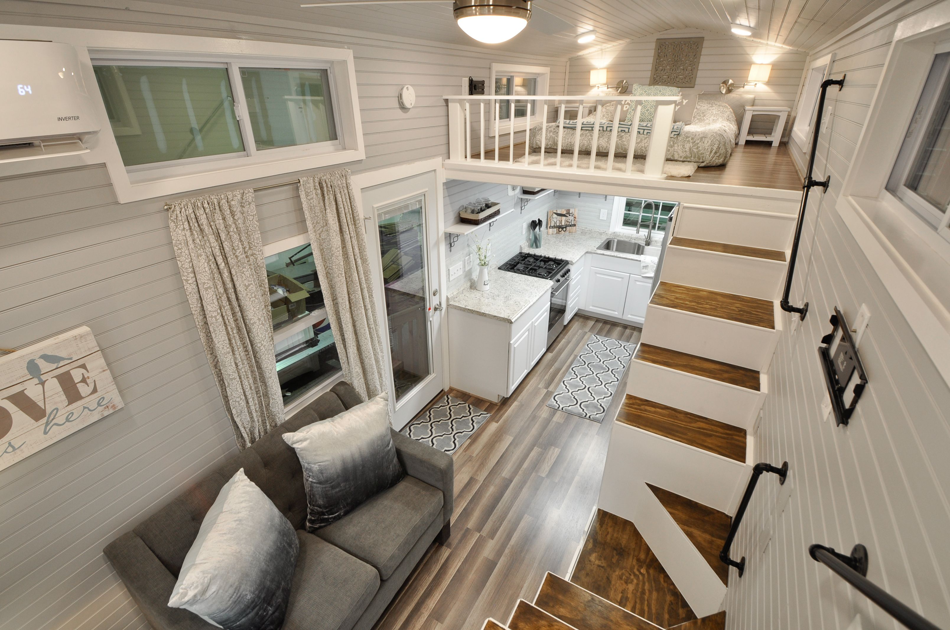 Modern Spacious The Kate Tiny House Features A Full