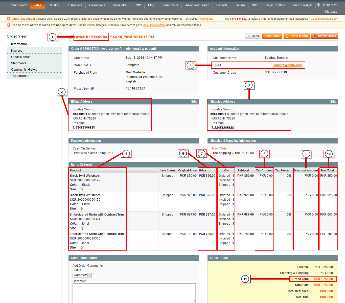 Our Integration Allows You to Download Magento Order