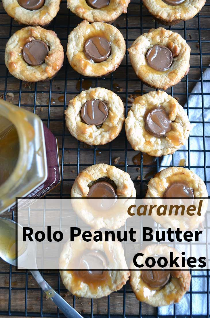 Easy Rolo Cookies That Are Gluten Free And Only 5 Ingredients A