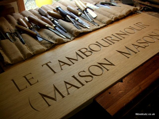 traditional hand carved plaque