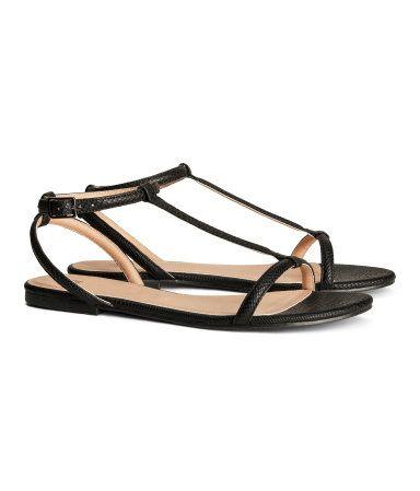 H\u0026M Strappy sandals KN99,90