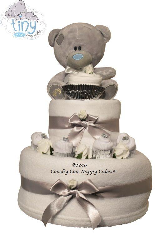 Baby Boys Tatty Teddy Nappy Cake Baby Shower Gift