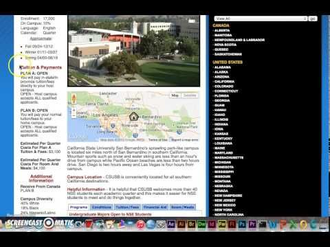 Researching National Student Exchange Options - YouTube