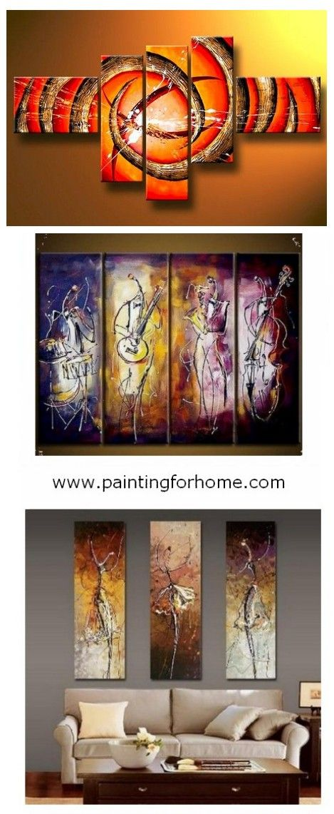Hand painted group paintings for home decoration large wall art canvas painting bedroom dining room and living also abstract african girl piece rh pinterest