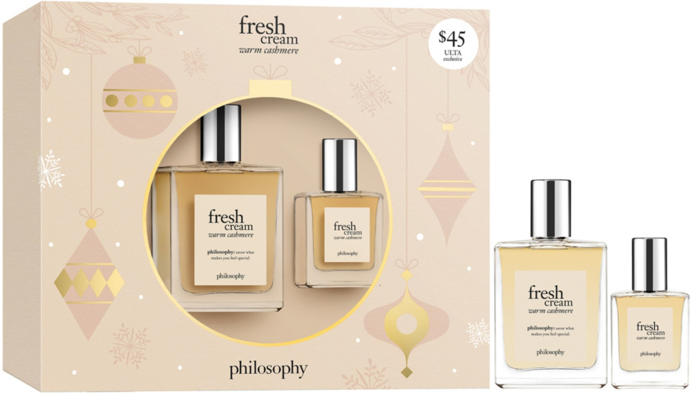 Wrap The Holidays In Warm Cashmere With The Limited Edition Philosophy Fresh Cream Warm Cashmere Set Philosophy Fresh Cream Fresh Cream Ulta