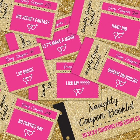Naughty Coupon Book, Sex Coupons, gift for couple, sexy coupon book,  instant download erotic coupons, couple coupon books, coupon booklet