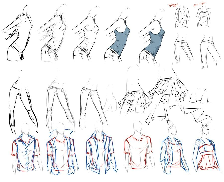Female body | drawing techniques (anime/manga) | Pinterest ...