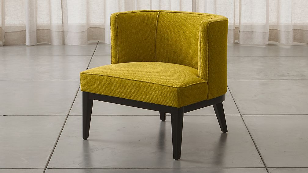 Grayson Chair Yellow Accent Chairs Accent Chairs Living Room