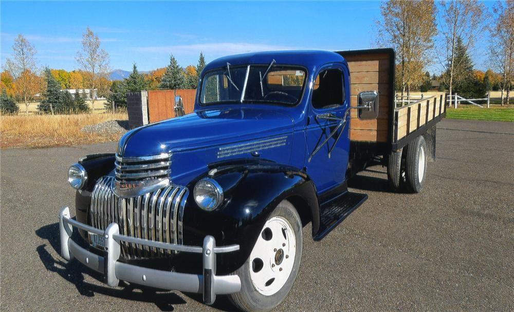 1941 Chevrolet Flatbed Truck Classic Trucks Classic Chevy Trucks Classic Cars Chevy