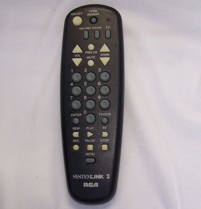 Rca Systemlink Universal Remote Control For Up To 3 Devices