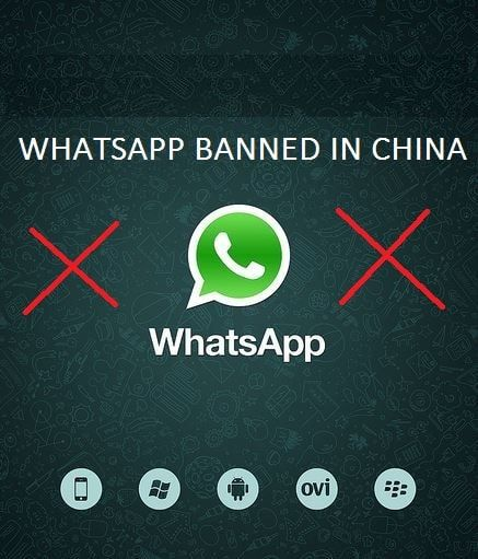 Is WhatsApp banned In China? What's the reason