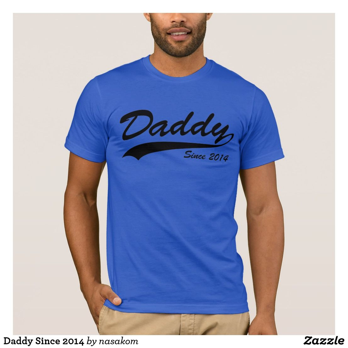 745a34e4320f Daddy Since 2014 T-Shirt  mothersday  mothersday2019  mothersdaygifts   mothersdayideas