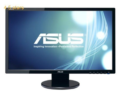 Asus ve247h 19201080 back lit monitor monitor rating 45 stars asus ve247h 236 full hd 19201080 2ms hdmi dvi vga fandeluxe Image collections