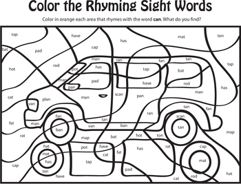 Learning Rhyming Words Can Worksheets Learning and Reading
