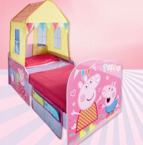 Peppa Pig Toddler Bed House Ideas Pig Girl Peppa Pig Pig Party
