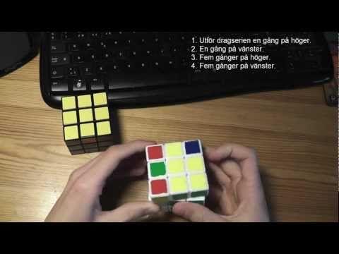 hur man löser en rubiks kub 3x3