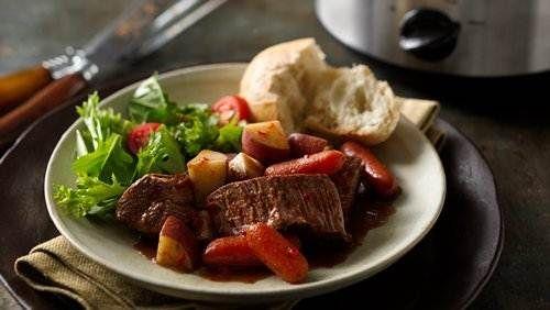 Easy Slow Cooker Fire Roasted Pot Roast