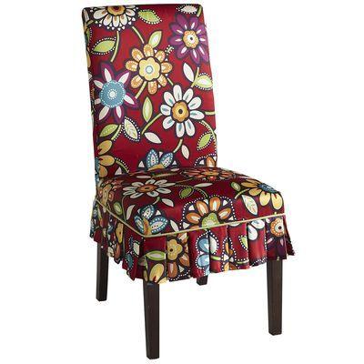 LOVE this for a dining chair!! So fun! Pier1 Dana Floral ...