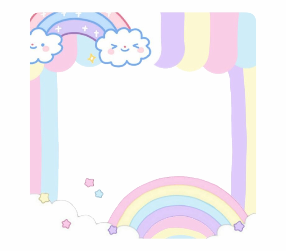 Kawaii Adorable Cute Pastel Pink Frame Frames Aesthetic Clipart Transparent Png Download 1630791 Vippn Clip Art Watercolor Tree Simple Photo Frame