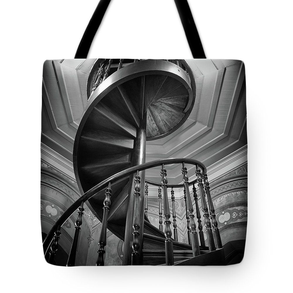 Best Spiral Staircase Tote Bag For Sale By Dorival Moreira 400 x 300