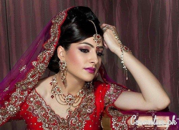 Mehndi Makeup Tutorial Dailymotion : Glamorous mehndi bridal makeup hair styling by kashif aslam