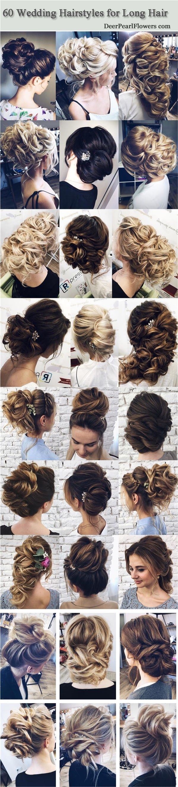 wedding hairstyles for long hair from tonyastylist things i