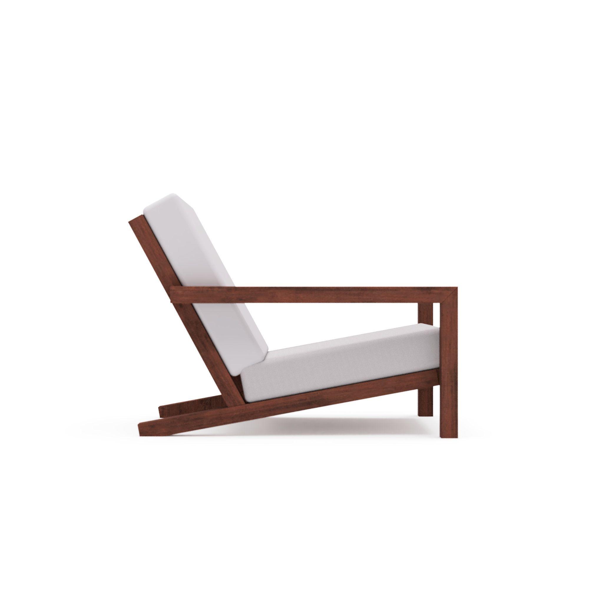 Diy Datei Fur Modern Garden Lounge Chair Stool Diy Bauplan Etsy