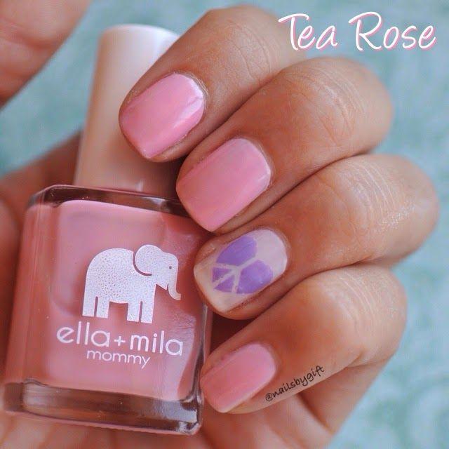 Nails by Gift: Ella + Mila Review   esmaltes   Pinterest   Esmalte