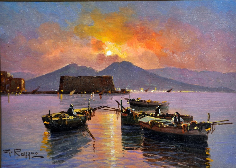 Barche al tramonto | Paesaggi, Bellissimi dipinti, Dipinti artistici