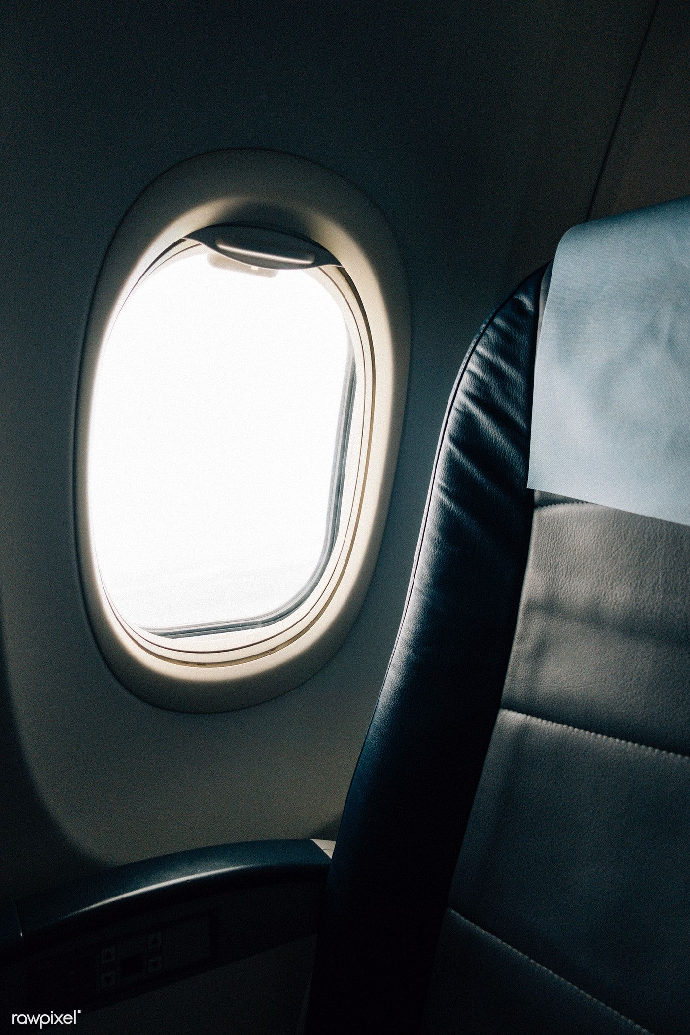 View From The Window Seat Of A Plane Free Image By Rawpixel Com