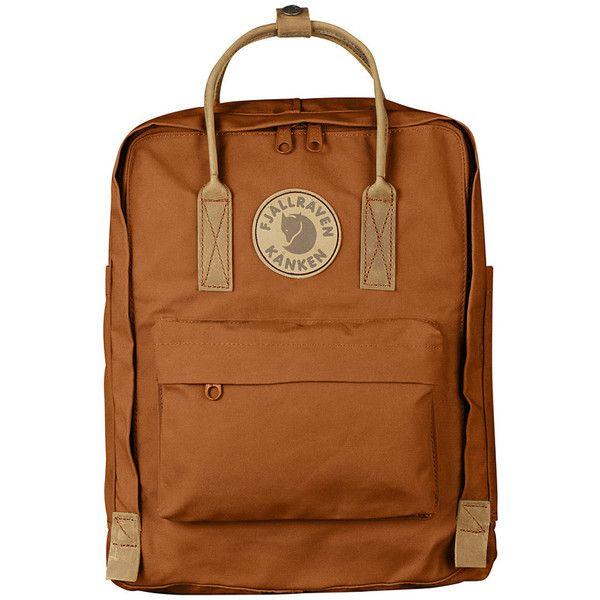 Fjallraven Kanken No.2 Backpack - 976cu in ($130) ❤ liked on Polyvore