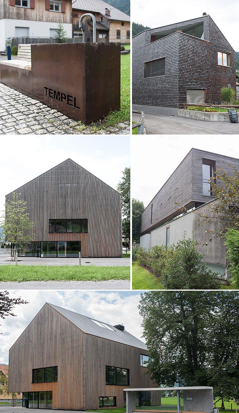 Bregenzerwald architektur
