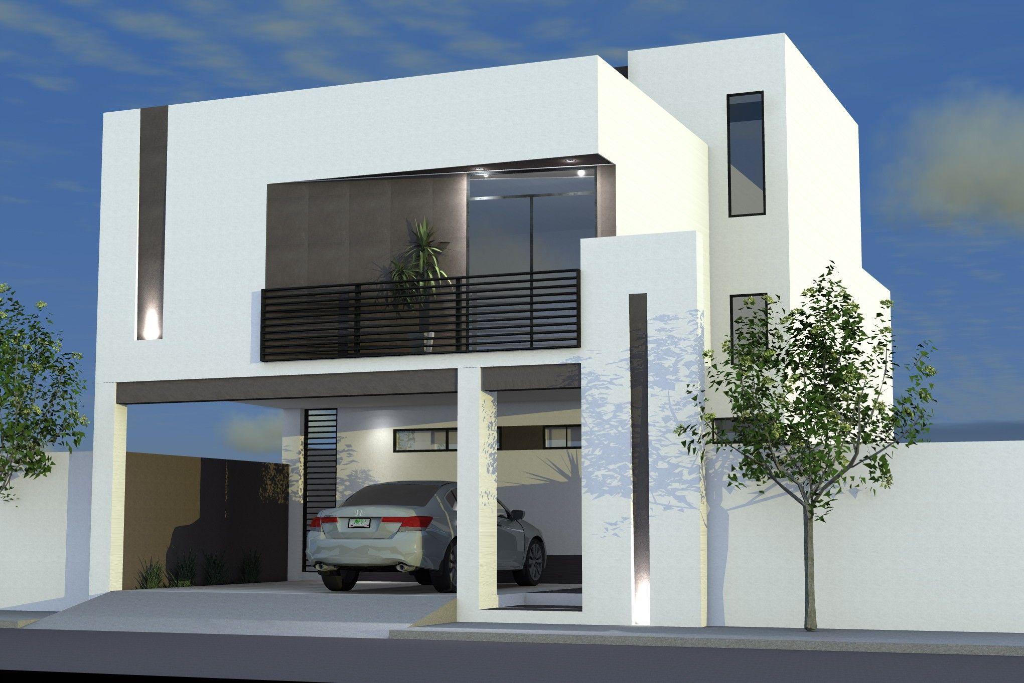 Porton herreria minimalista buscar con google fachadas for Fachadas duplex minimalistas
