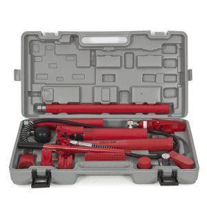 10 Ton Porta Power Hydraulic Jack Body Frame Repair Kit Auto Shop Tool Heavy Car Shop Repair Hydraulic