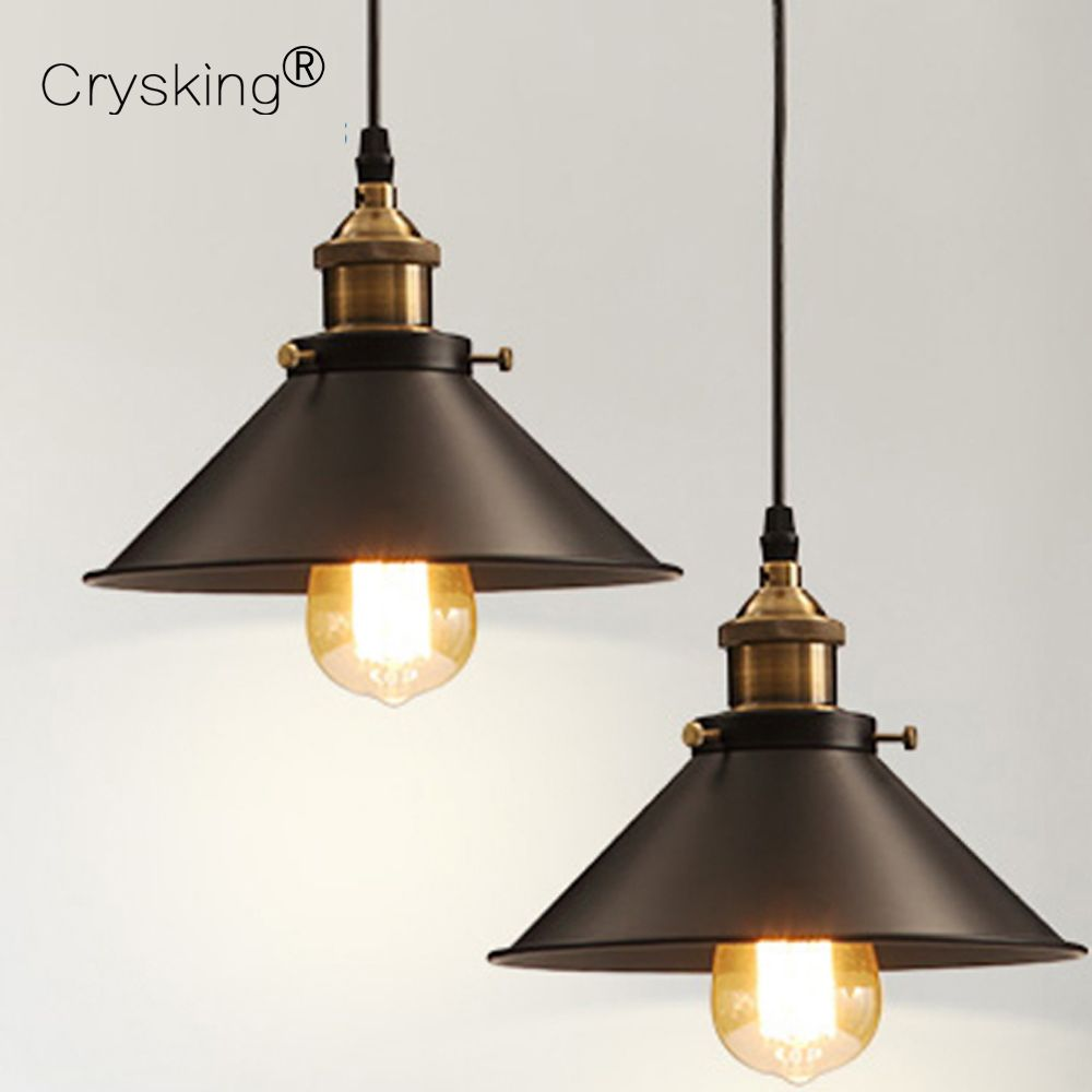 Check Discount Russia Vintage Pendant Lights Modern Dining Pendant Lamp E27 Edison Industrial Retro Hanging Retro Lamp Vintage Industrial Lighting Copper Lamps Industrial Pendant Lights