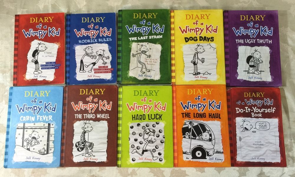 Lot of 10 diary of wimpy kid 1 9 do it yourself book jeff kinney lot of 10 diary of wimpy kid 1 9 do it yourself solutioingenieria Choice Image