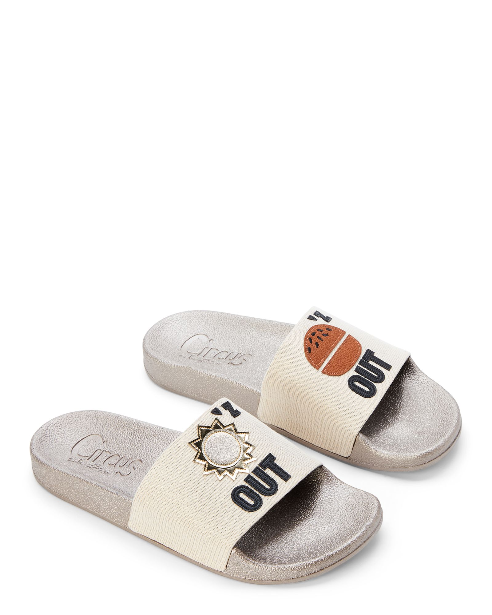 5e1c30bf8f9d Circus By Sam Edelman Ivory Suns Out Buns Out Flynn Slide Sandals ...
