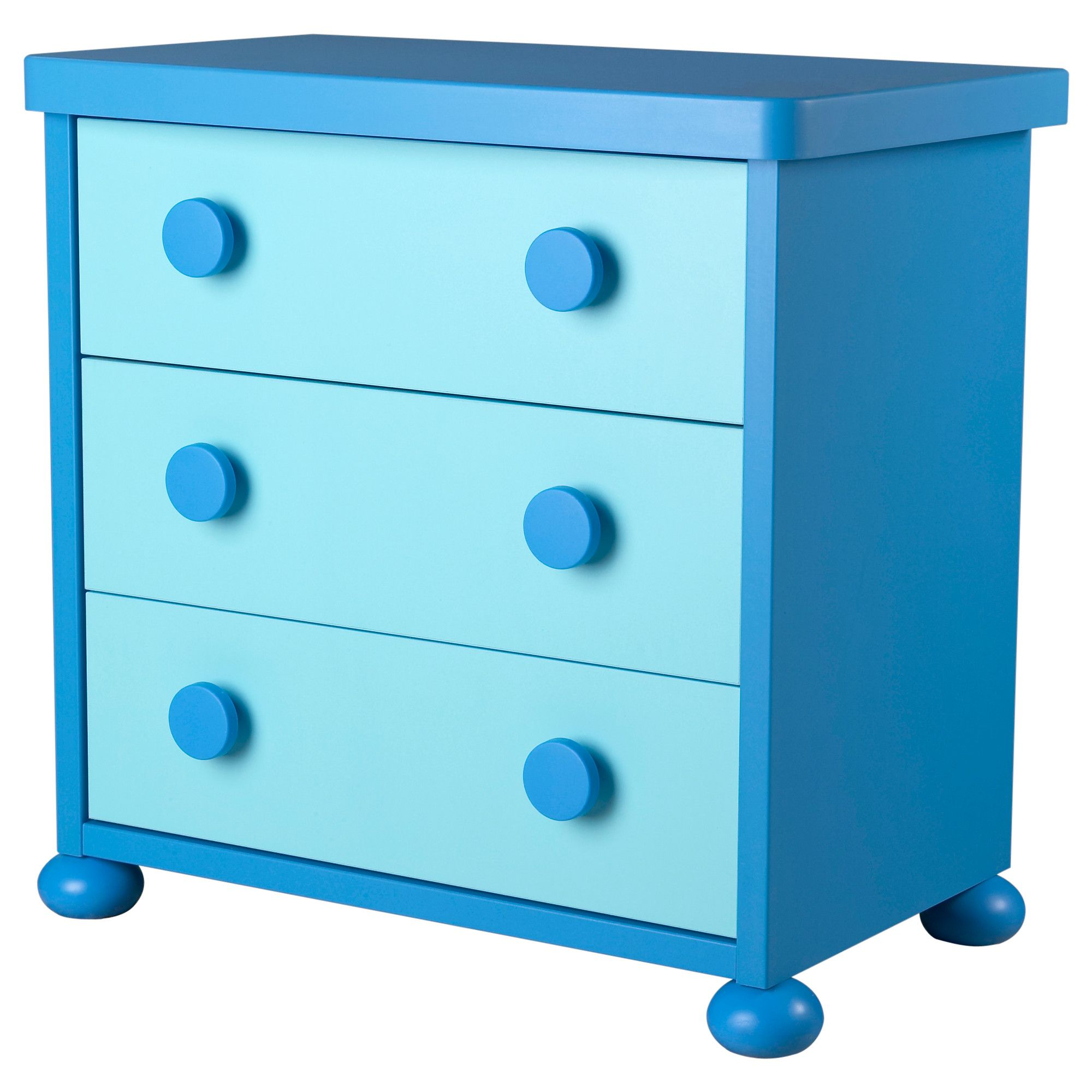 MAMMUT 3 Drawer Chest   Blue   IKEA (possible Art/craft Storage In Play  Room)