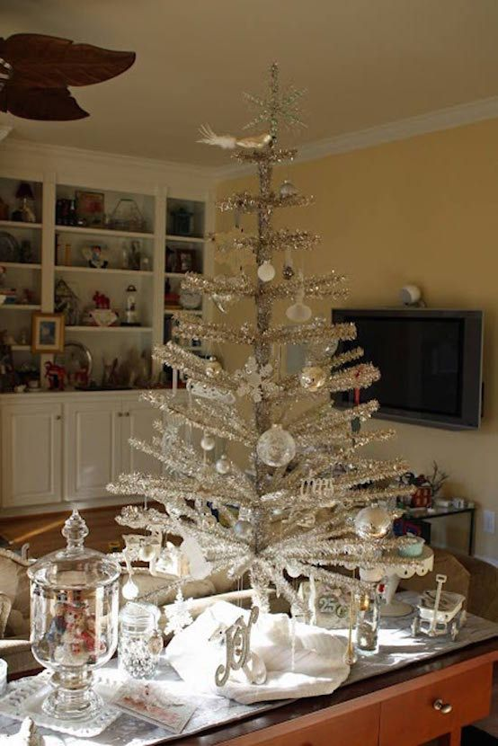 29 Inspiring Silver And White Christmas Tree Decorations White - white christmas tree decorations
