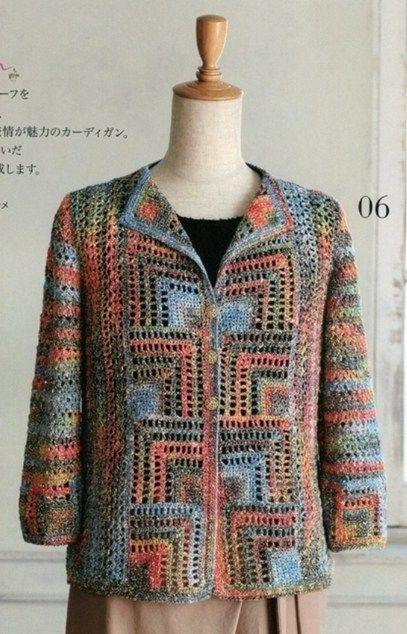 CROCHET JACKET. — Crochet by Yana | yelek,süveter,hırka | Pinterest ...