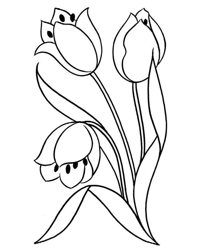 ausmalbild tulpe http://www.liveinternet.ru