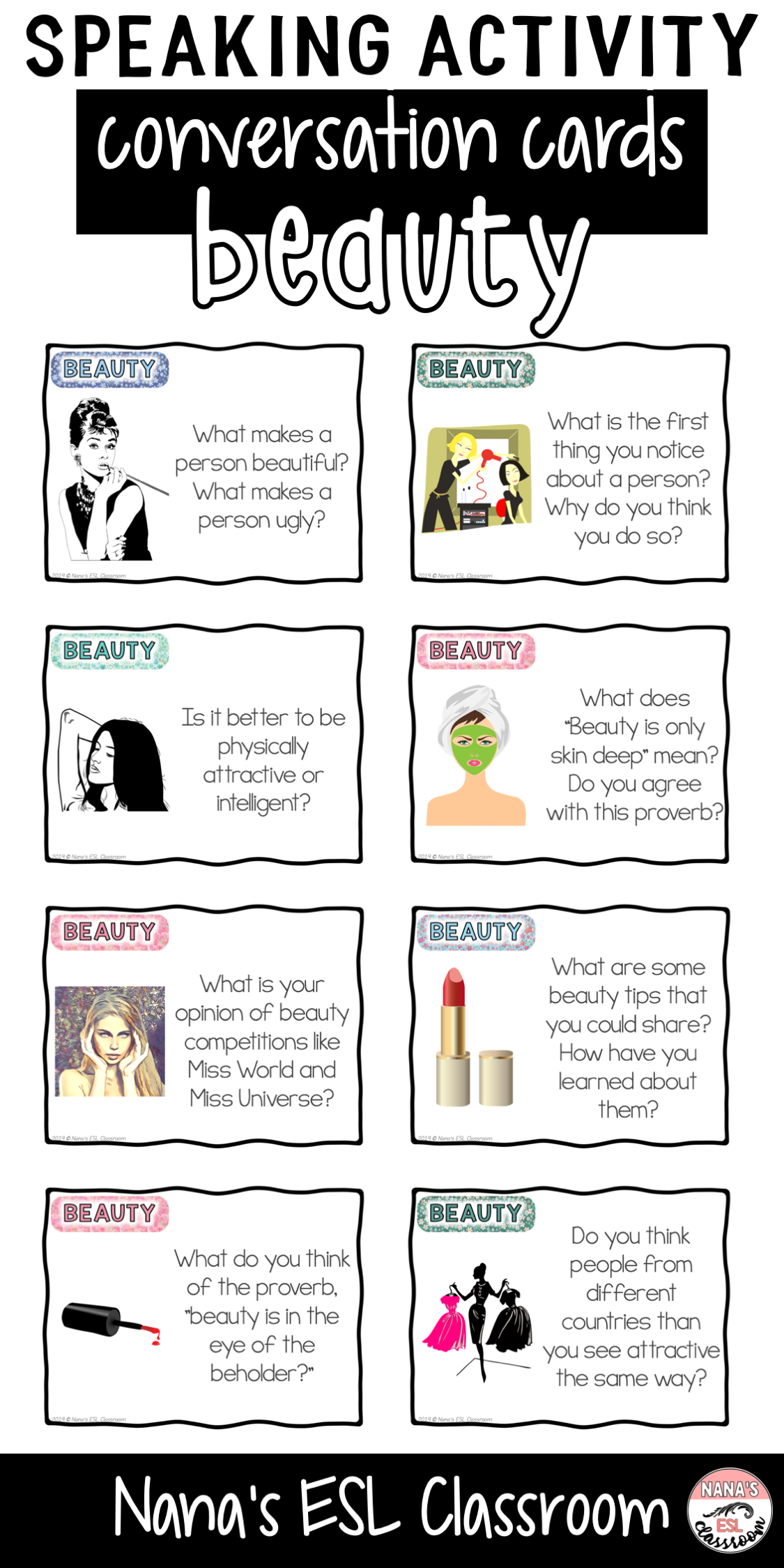 Conversation Starters About Beauty And Appearance