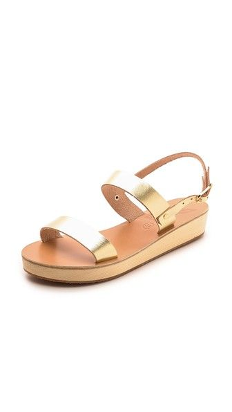 Ancient Greek Sandals Gold Clio Leather Sandals dOv9S